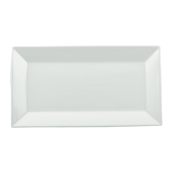 Ly's Horeca Rectangular China Rim Plate by Minh Long