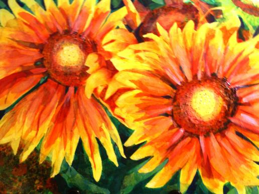 Sunflower. Images courtesy of Renee Ruffin