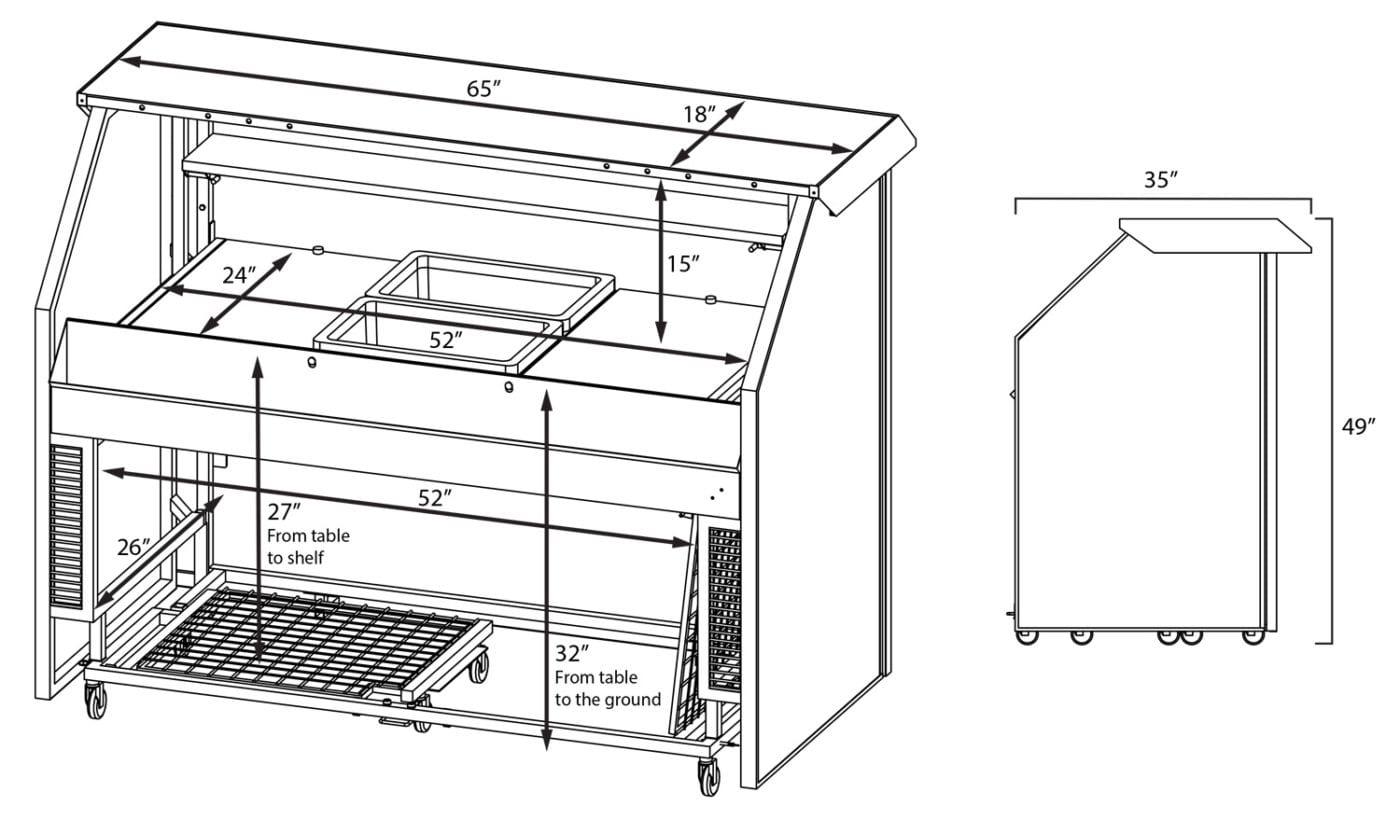 Professional Portable Bar