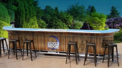 Portable Outdoor Bar Ideas - Get the Party Going this ... on Portable Backyard Bar id=53935