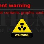 Graphics image warning TPCN 2