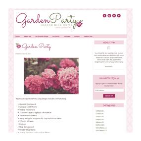 Ready2Go WordPress Blog Sample