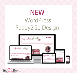 New WordPress Ready2Go Design