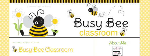Busy Bee Classroom Blog
