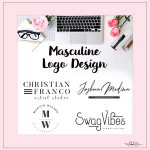 New Masculine Logo Designs