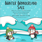 Winter Wonderland Holiday Sale January 2019