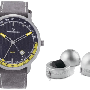 Momo design watch MD6005SS-32B and case - the posh watch shop