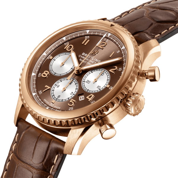 Breitling Navitimer-8 B01 Chronograph RB0117131Q1P1 - Side View - The Posh Watch Shop