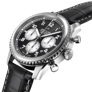 Breitling Navitimer-8 watch AB0117131B1P1 - Side View - The Posh Watch Shop