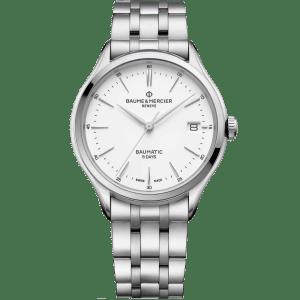Baume & Mercier Clifton watch M0A10400 - The Posh Watch Shop