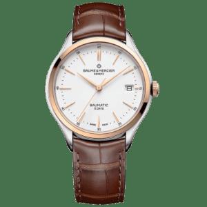 Baume & Mercier Clifton watch M0A10401 - The Posh Watch Shop