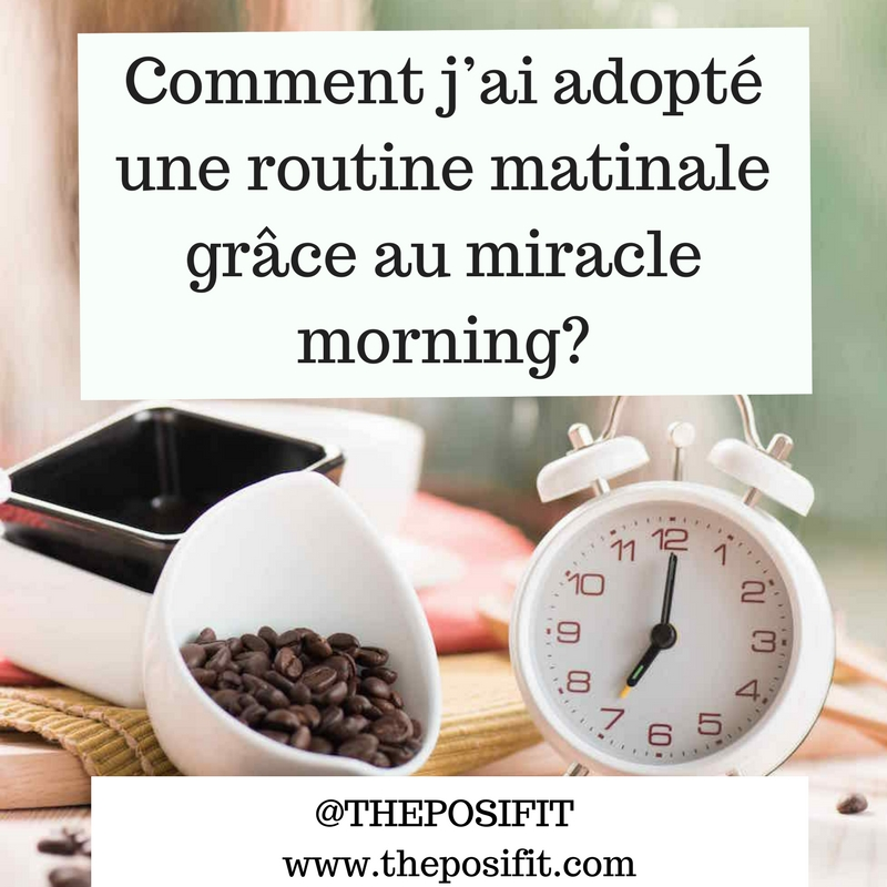 routine matinale