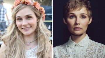 """""""every scar tells a story"""" - Clare Bowen cuts off hair to make a statement about beauty and self-love"""