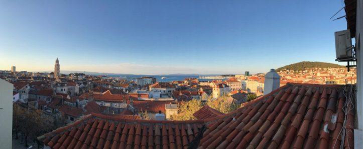 Split Croatia view