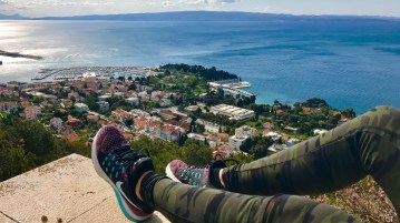 Top of Marjan Hill Split Croatia