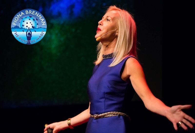 Fiona Brennan speaking at TedX