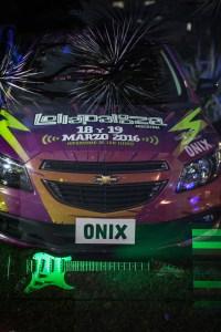 Chevrolet Onix junto a Lollapalooza Foto 2