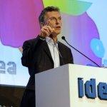 Macri en IDEA