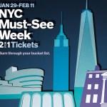 Beneficios 2×1 para aprovechar cientos de atracciones en Nueva York