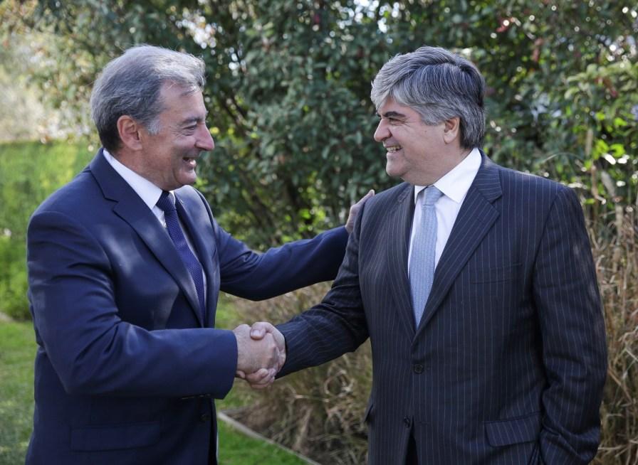 Daniel Herrero, Presidente de Toyota y Miguel Gutierrez, Presidente de YPF