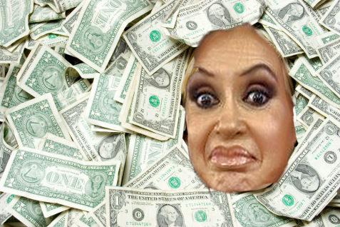 cristina-llena-de-dolares-robando