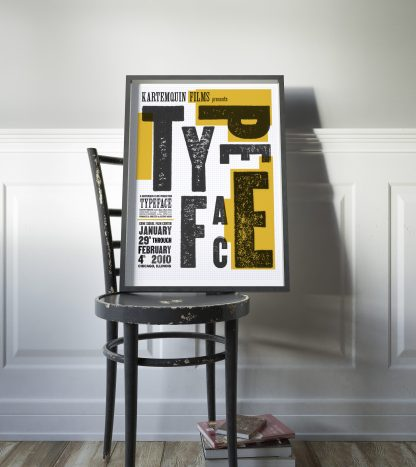 Typeface film poster Chicago premier