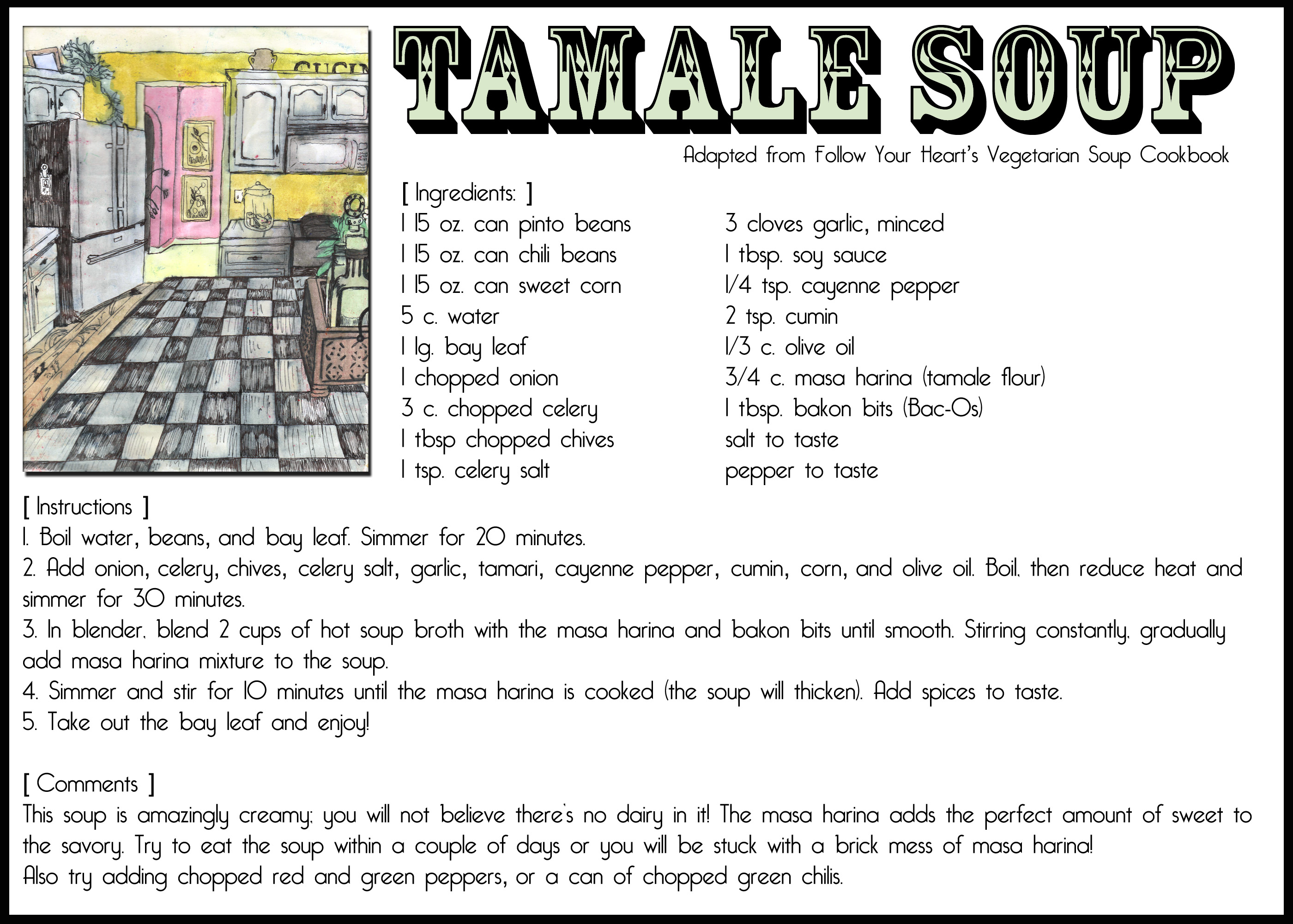 Printable Soup Recipes For Cold Days The Postman S Knock
