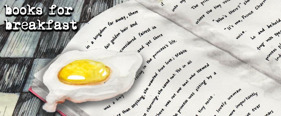 Books for Breakfast Egg on Book