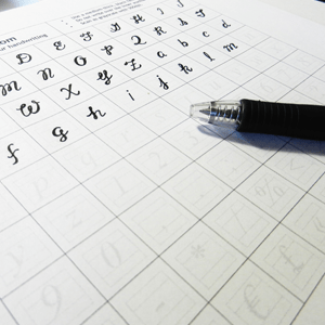 Making My Handwriting Into a Font
