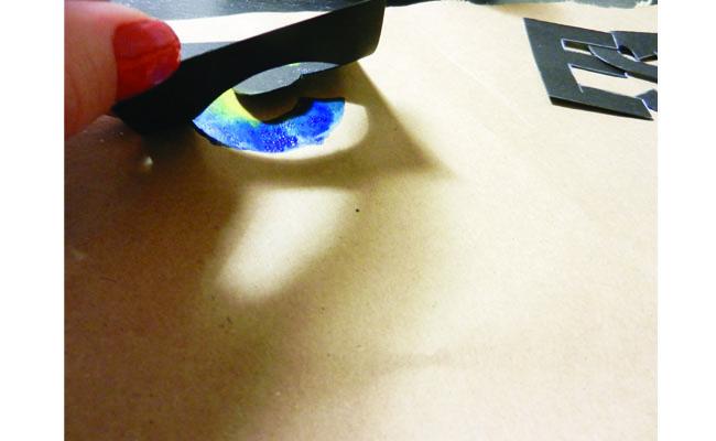 Peeling the Stencil Off