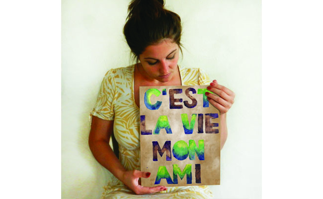 C'est La Vie Digital Print