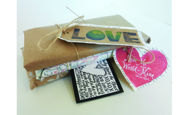 Valentines Tags in Action
