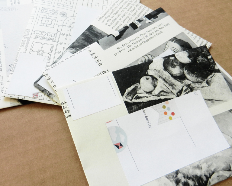 Handmade Envelopes   The Postman's Knock by Lindsey Bugbee