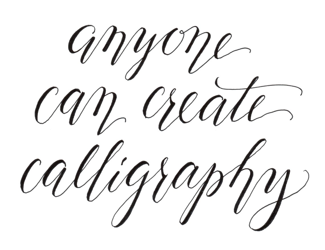 Cheating Calligraphy Tutorial The Postman's Knock
