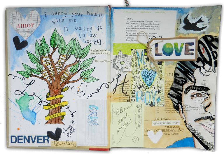 Sketchbook Journal | The Postman's Knock by Lindsey Bugbee