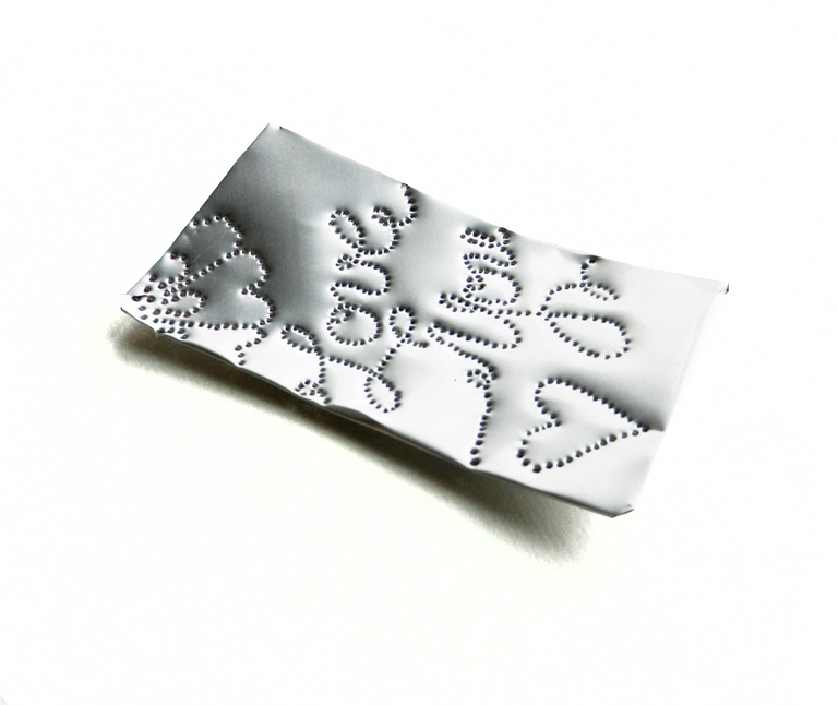 Aluminum Handmade Gift Tag | The Postman's Knock by Lindsey Bugbee