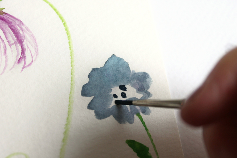 How to Create Watercolor Flowers   The Postman's Knock