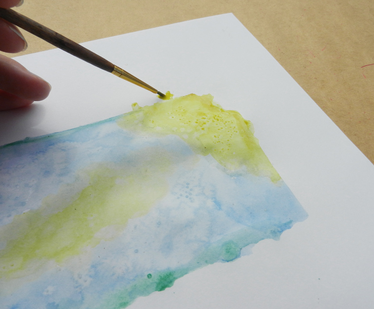 State Art Watercolor Tutorial | The Postman's Knock