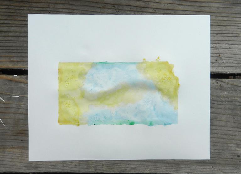 State Art Watercolor Tutorial | The Postman's Knock