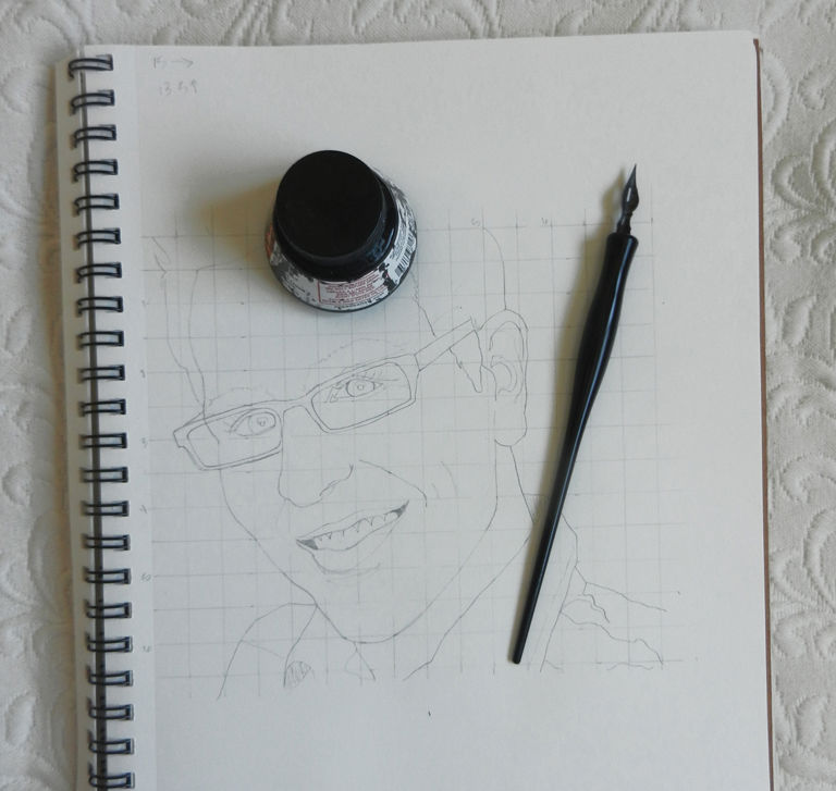 How to Create Watercolor Portraits   The Postman's Knock