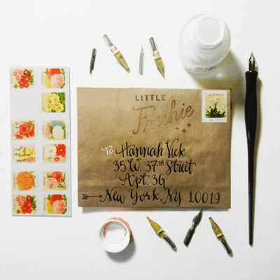 The Art of Snail Mail {with DIY Wax Seal Instructions}