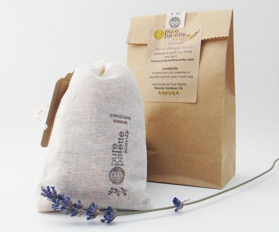 Lavender Sachet by PurePalette | Small Gift Idea - The Postman's Knock