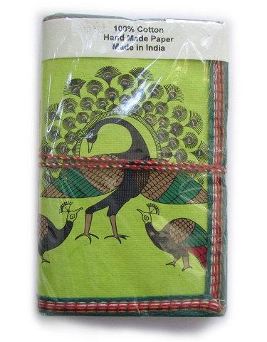 Fabric Journal by Adya International | Small Gift Idea - The Postman's Knock