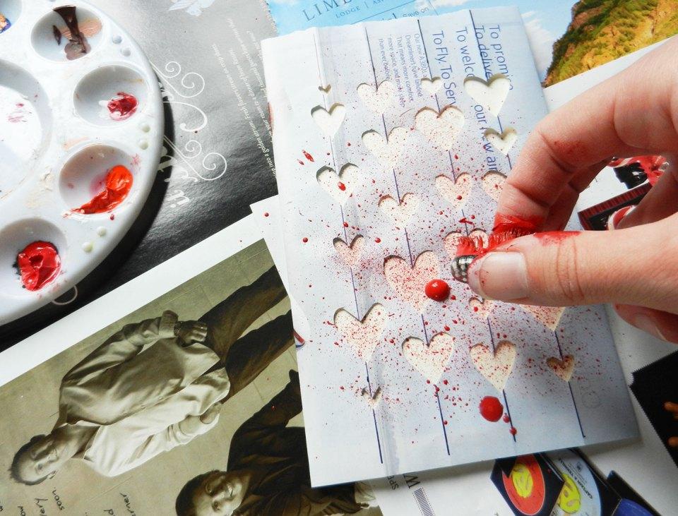 Handmade Valentine's Day Card   The Postman's Knock