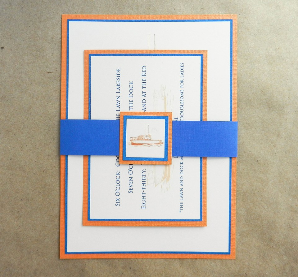 Reception Dinner Invitation | The Postman's Knock