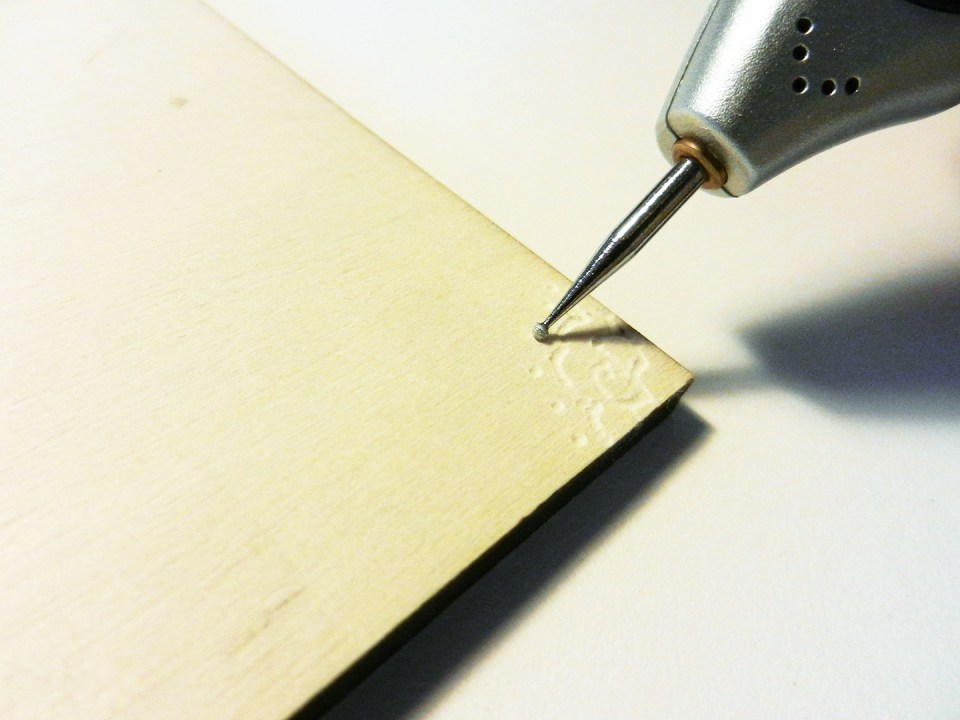 Engraving on Wood | The Postman's Knock