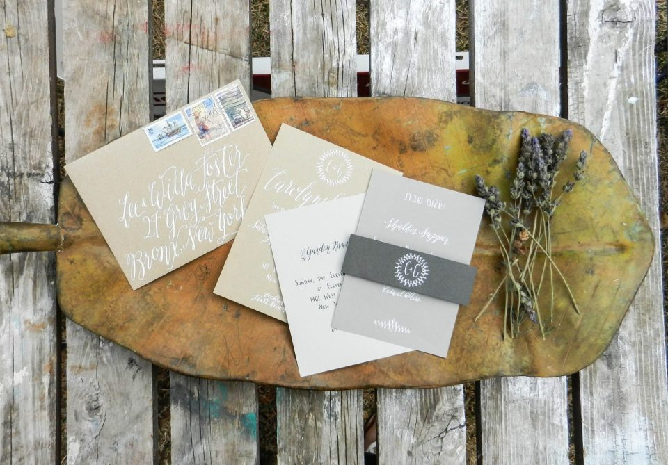 Handwritten Wedding Invitations | The Postman's Knock