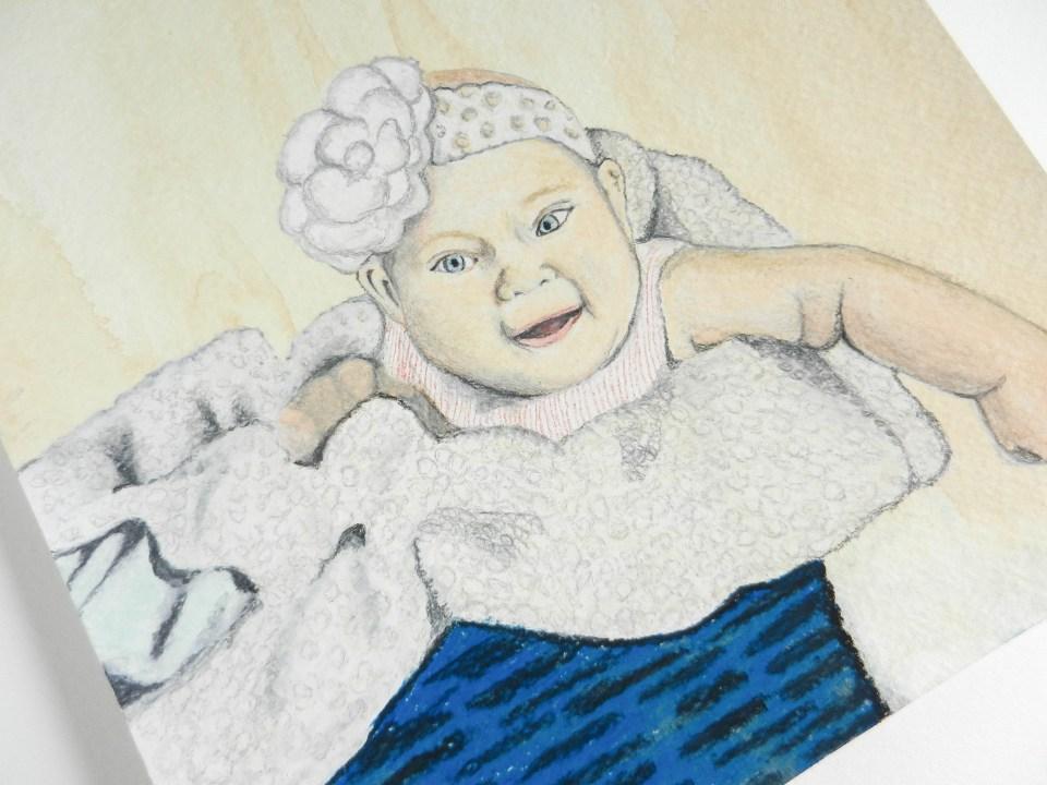 Chalk Pastel Tutorial | The Postman's Knock
