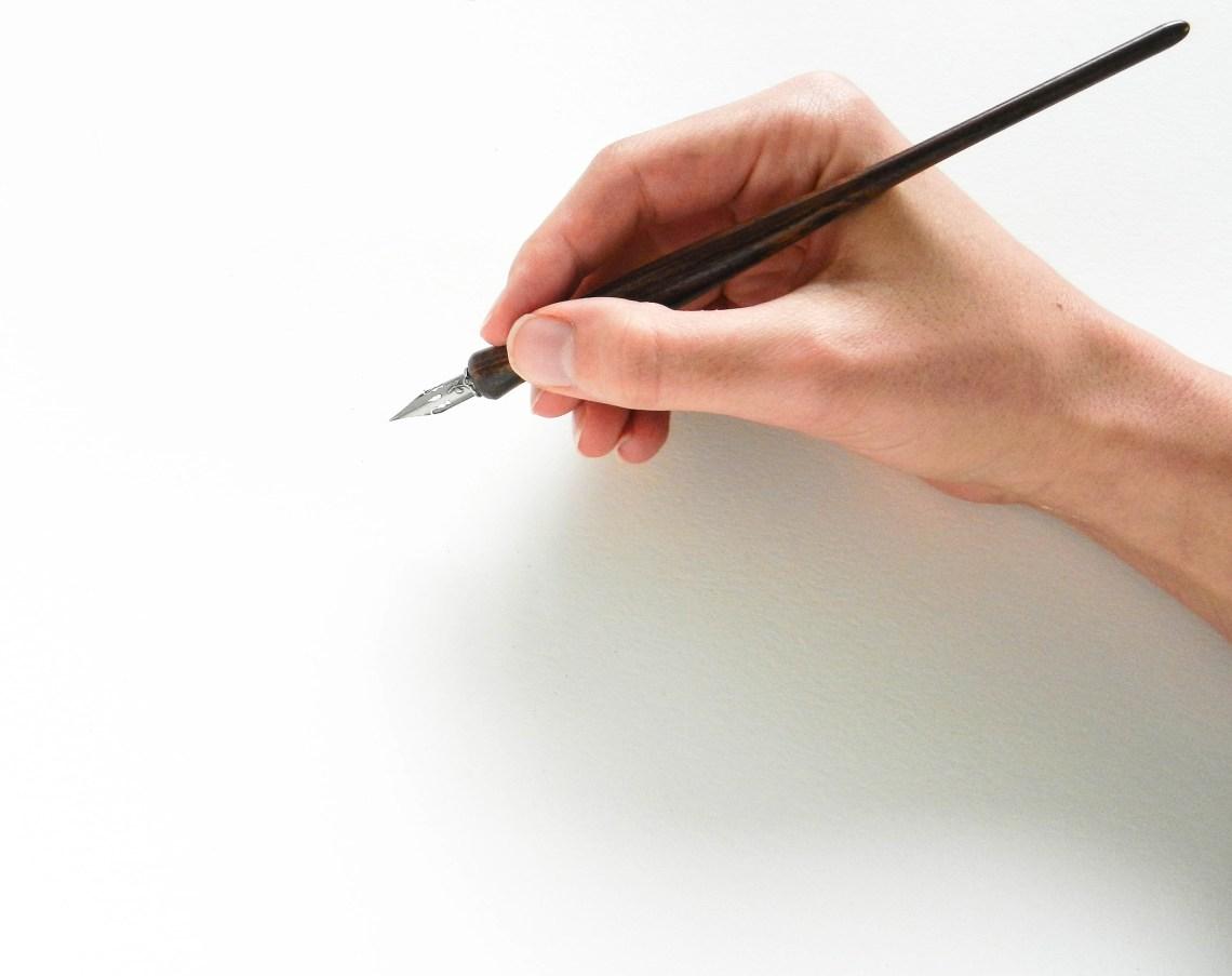 Artisan-made Calligraphy Pen Holder | The Postman's Knock