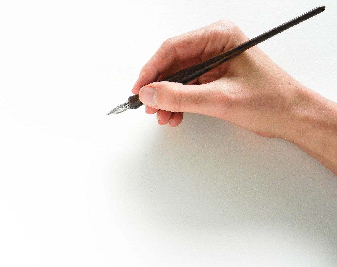 Artisan made calligraphy pen holders the postman s knock